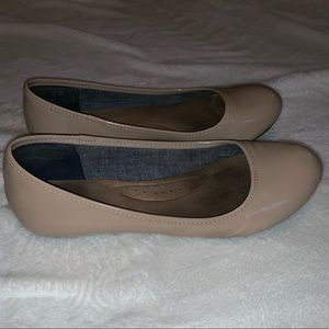 Dr. Scholl's Tan/Nude Ballet Flats